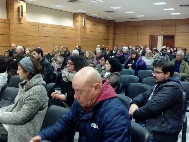 Με μεγάλο ενδιαφέρον η σύσκεψη με πρωτοβουλία του Συνδικάτου Τροφίμων Αργολίδας για το ασφαλιστικό