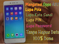 Oppo A37, A37f Lupa Pola, Kata Sandi & Password Tanpa Hapus Data