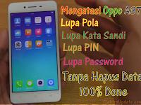 Oppo A37, A37f Lupa Pola, Kata Sandi & Password Tanpa Hapus Data