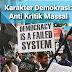 Karakter Demokrasi: Anti Kritik Massal