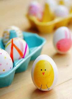 Membuat Kerajinan Tangan Aneka Telur Hias