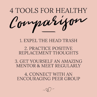 4 Tools for Healthy Comparison