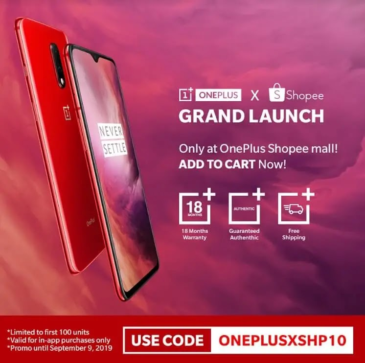 Digital Walker Brings OnePlus 7 to PH for as low as Php24,291