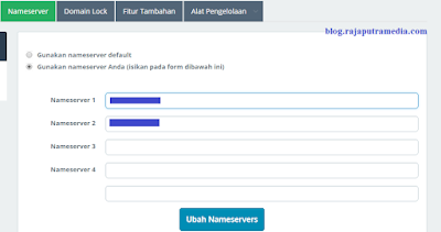 Cara Mengganti Blogspot dengan Domain Sendiri