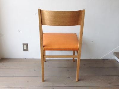 宮崎椅子 menuサイドチェア ナラ オイルレザー