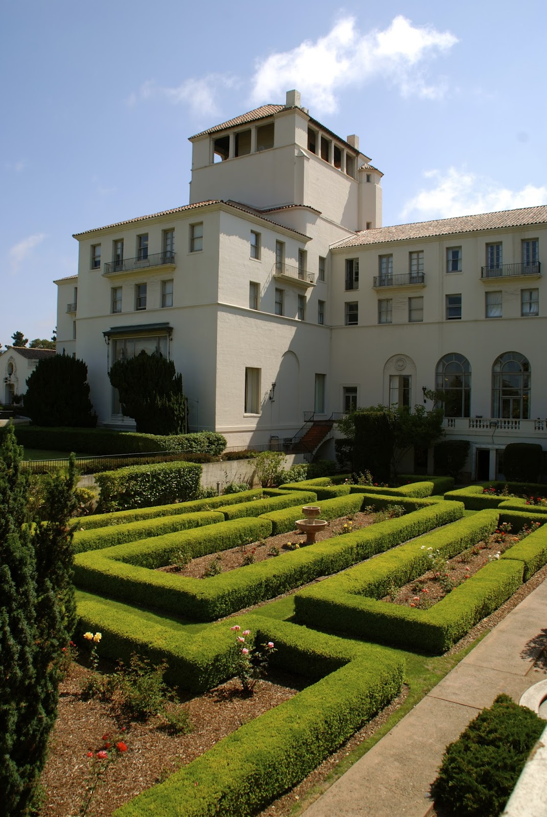 The Third Hotel Del Monte As Seen Today Hermann Hall At Naval Postgraduate Academy