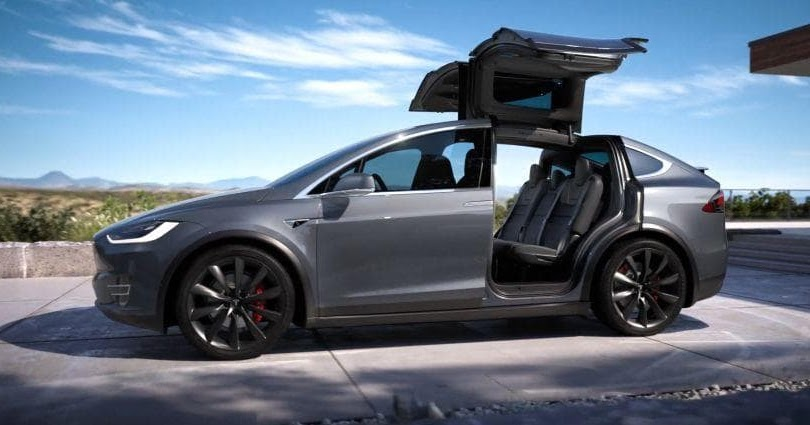 Tesla Model X - SUV With Perfect Safety Rating Score | ri ...