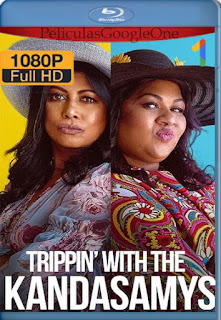 Los Kandasamy: El viaje (Trippin' with the Kandasamys) (2021) NF [1080p Web-DL] [Latino-Inglés] [LaPipiotaHD]