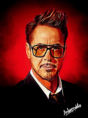 Digital, painting, art, creative, celebrity, images