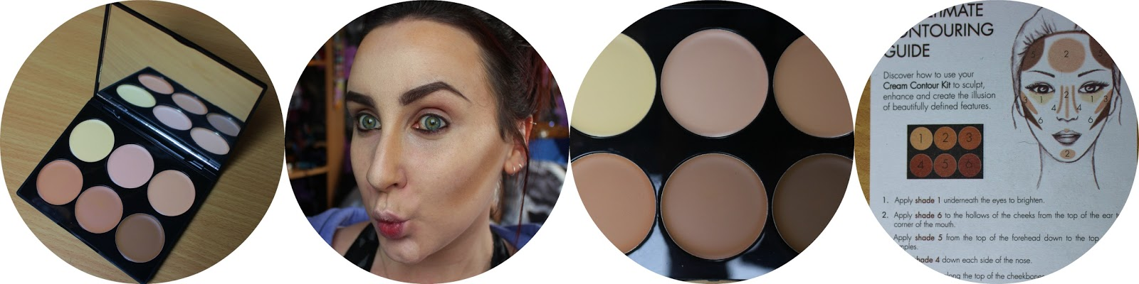 How to contour with the Sleek Cream Contour Kit