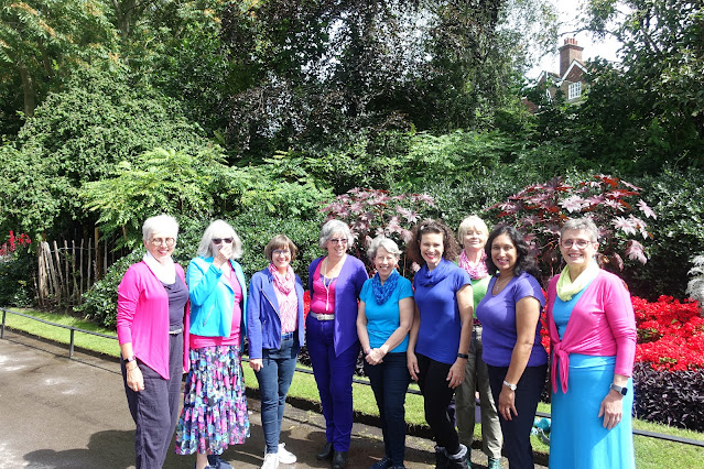 The Winter contingent at the Kettlewell Colour club unofficial meet up in London in August 2021