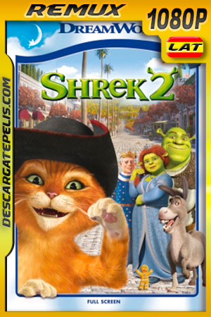 Shrek 2 (2004) 1080p BDRemux Latino – Ingles