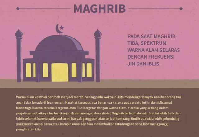 Rahasia Sholat Maghrib