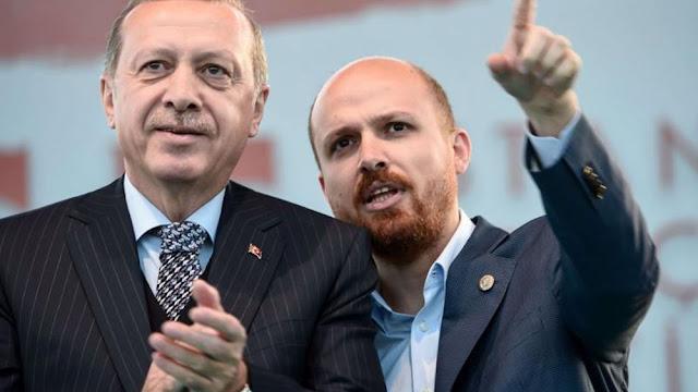 """Ο υιός Ερντογάν """"καίει"""" τον πατέρα"""