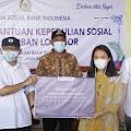 Anggota DPR Salurkan Paket Sembako Bagi Korban Tanah Longsor di Purwakarta