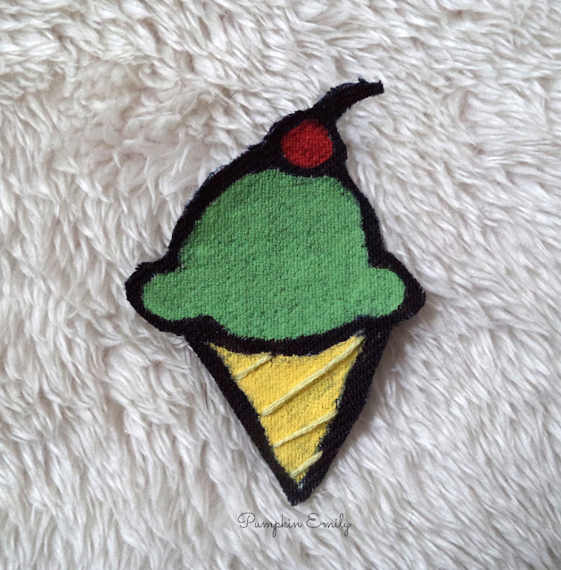 DIY Ice Cream Patch