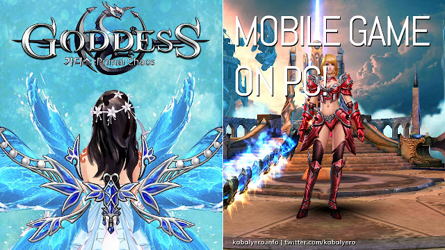 Played a Mobile Game on PC! [Goddess: Primal Chaos Gameplay 2020]