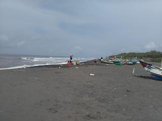 Ngembun atau Terapi Udara Pantai, di Pesona Pengklik Samas, Jogja.