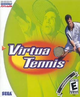 Virtua Tennis 1 Cover, Poster