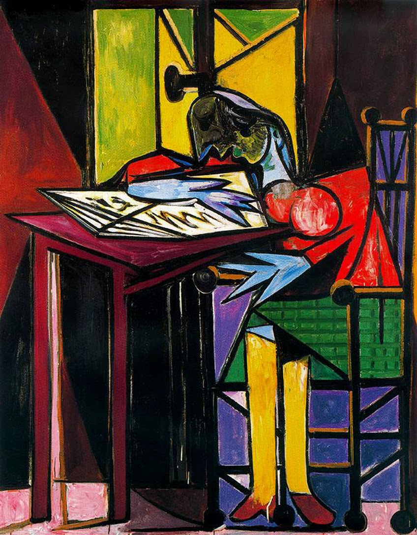 Pablo Picasso - Woman reading