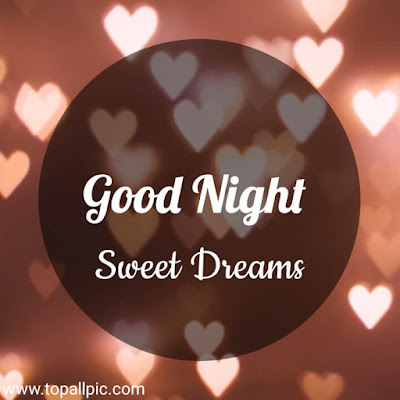 wishes Good Night Sweet Dreams Images for her love