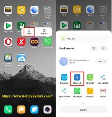 Mengirim Aplikasi Android Lewat Bluetooth1