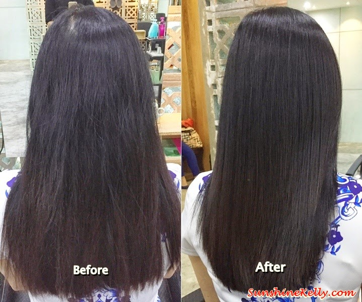 Hair Review, Collagen Hair Treatment, Frank Salon, Nexus Bangsar South, Hair Treatment