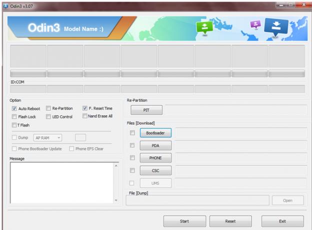 Samsung Odin3 software New Version for Windows 7,8,10 - androidduniya