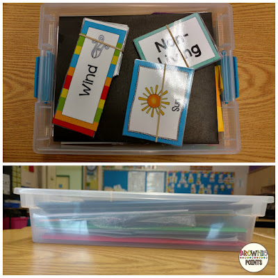 Use Sterilite boxes to store your teaching units - BrowniePoints