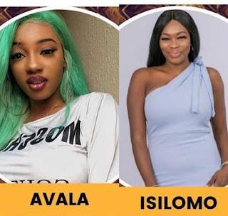 Avala and Isilomo evicted
