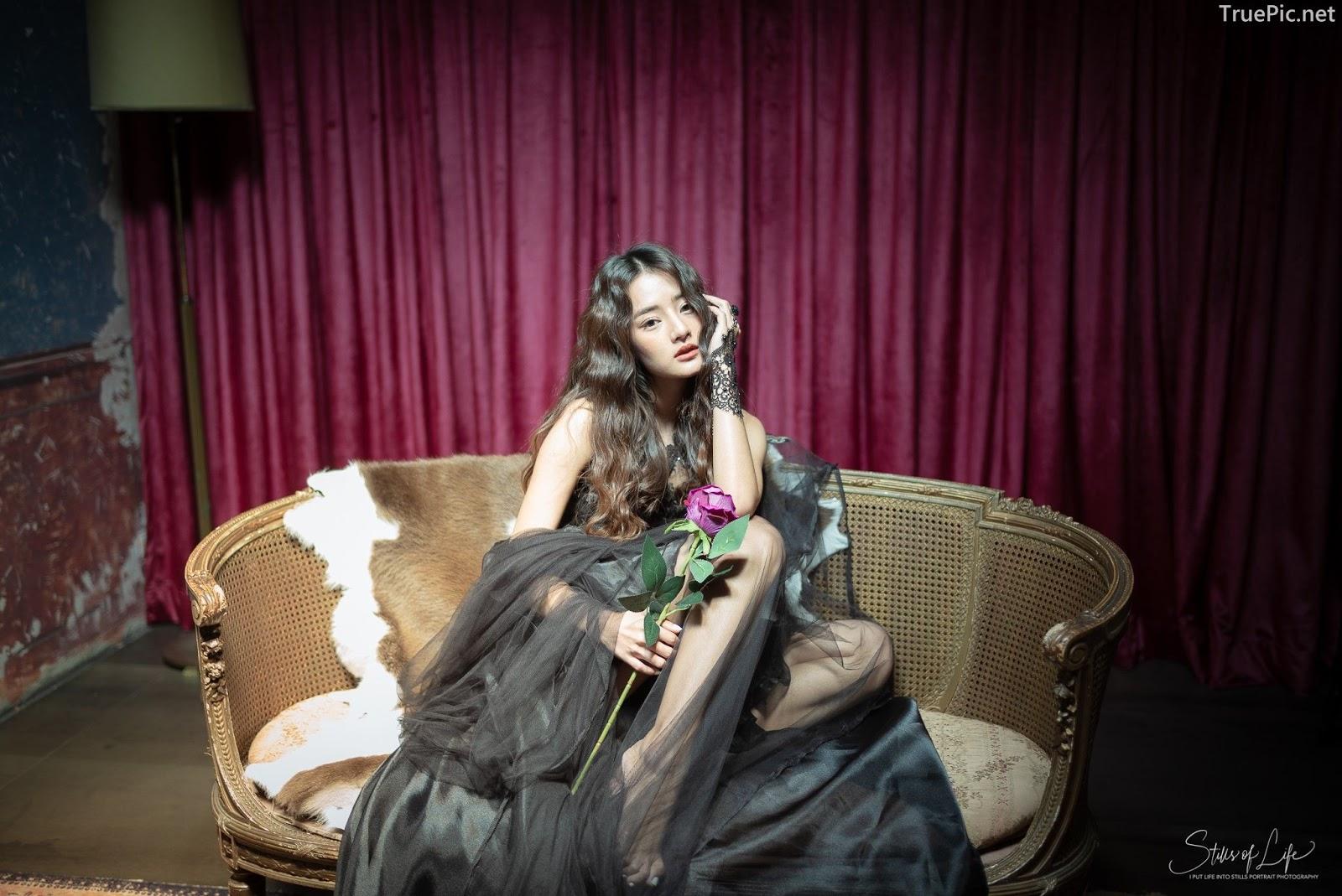 Thailand model - Phakaporn Lertchamchongkul - Hate Valentine (Black Angle)