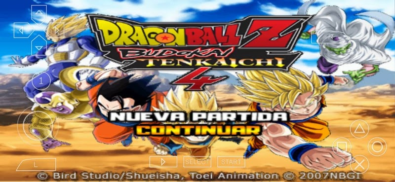 Android PSP Game Dragon Ball Z Tenkaichi Tag Team Mod With New Beerus, Goku and Jiren