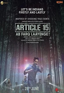Article 15 Hindi Movie Download Torrent