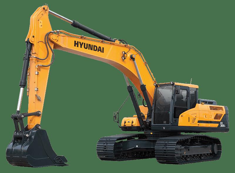 Hyundai Excavator HX300L