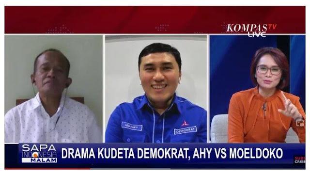 Eks Staf KSP Sebut Kedekatan dengan SBY Dimanfaatkan Nazarudin cs Buat Kudeta, Moeldoko Cuma Korban?
