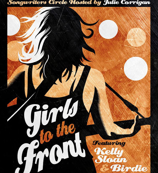 Girls to the Front with host Julie Corrigan, Kelly Sloan & Birdie Whyte @ Irene's Pub (2016) | Ottawa Gig Posters