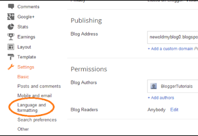 How to Change Blogger Blog Language In 5 Min