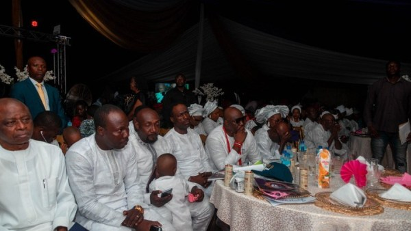 Nollywood actors at Dino Melaye's mother's burial (photos)