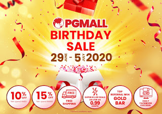 PG Mall Birthday Sale