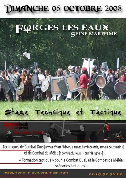 Stages CombatGN - Forges les Eaux
