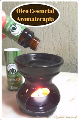 massagem com óleo essencial