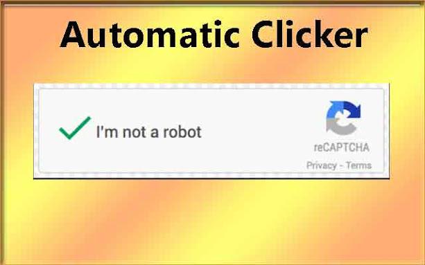 إضافة جوجل كروم I'm not robot captcha clicker