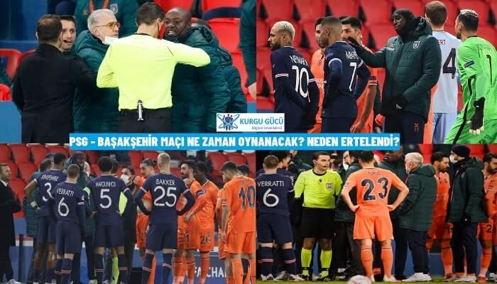 PSG Başakşehir Maçı Neden Ertelendi? Ne Zaman Oynanacak?