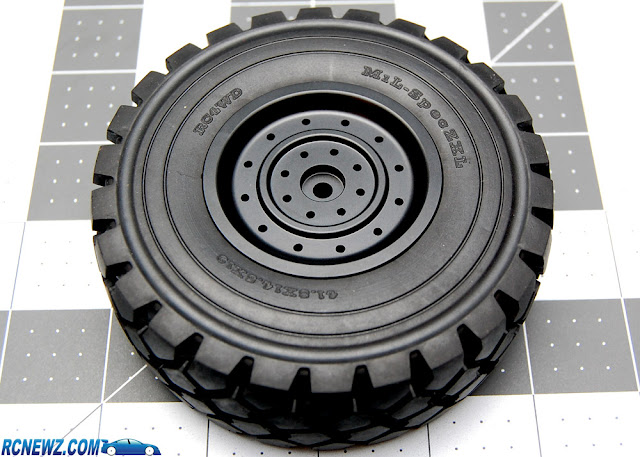 RC4WD Beast 2 wheels and tires