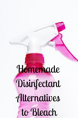 Homemade Disinfectant Alternatives to Bleach