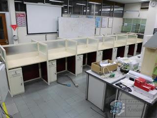 Meja Partisi Kantor Untuk Kampus UGM + Furniture Semarang