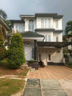 Rp 145 jt 1/ thn Disewakan Rumah Furnis Siap Huni Di BGH Sentul City ( code 496 )