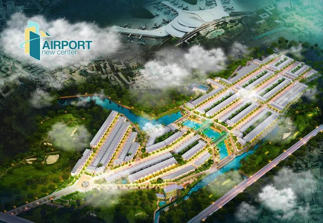 đất nền airport new center