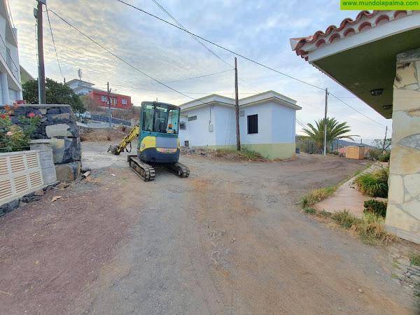 Se inician las obras de mejora del Camino El Lomo en Tijarafe