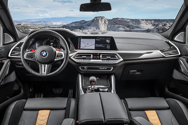 Interior BMW X6 M